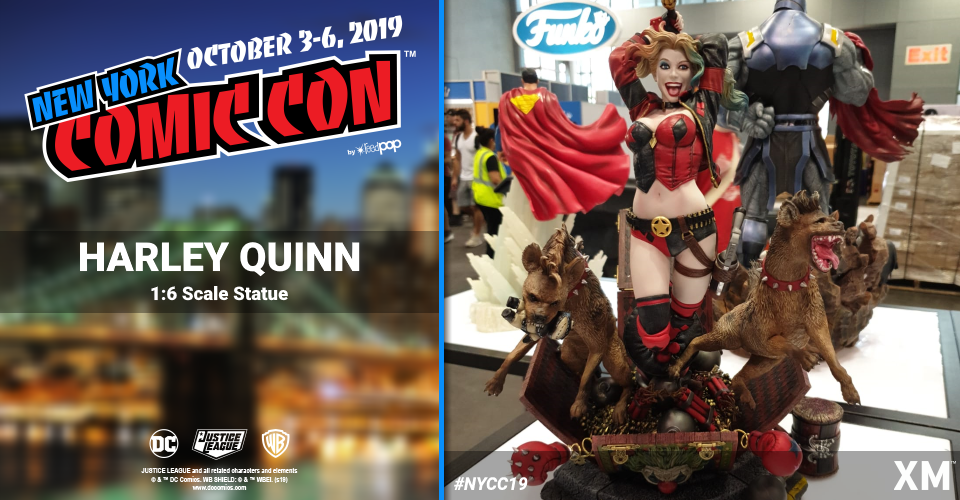XM Studios: Coverage New York Comic Con 2019 - October 3rd to 6th  Harleyquinn6pcjmi