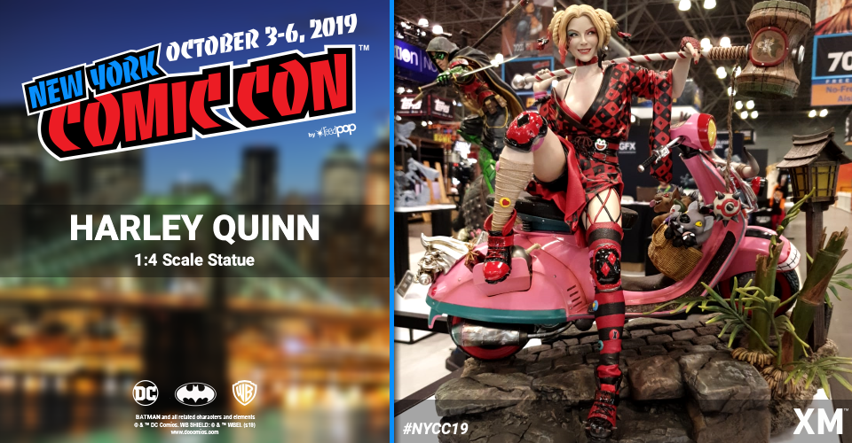 XM Studios: Coverage New York Comic Con 2019 - October 3rd to 6th  Harleyquinnh9keh