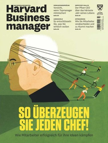 Cover: Harvard Business Manager No 07 Juli 2021