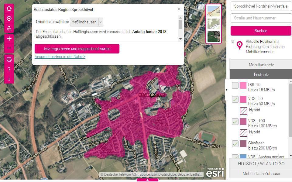 Telekom Dsl Verfügbarkeit Karte.Steigt Die Telekom In Den Vorvertrag Finanzierten Eigenausbau Ein