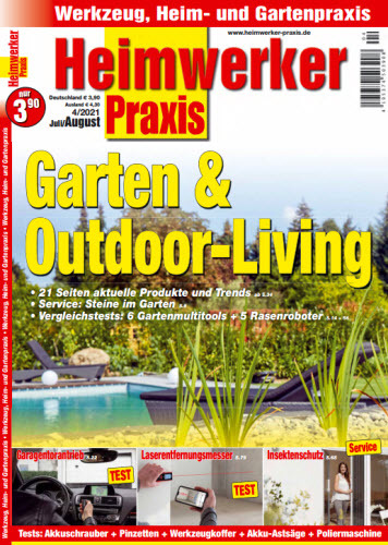 Cover: Heimwerker Praxis Magazin No 04 2021