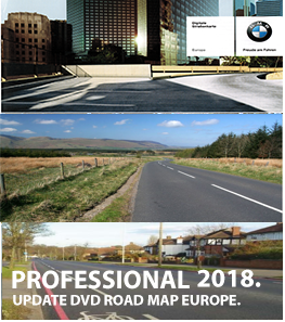 BMW Road Map Europe Professional CCC 2018