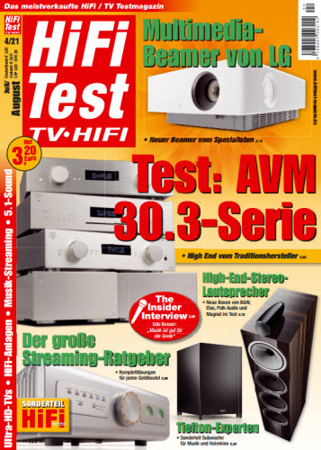 Cover: Hifi-Test Tv Hifi Magazin No 04 2021