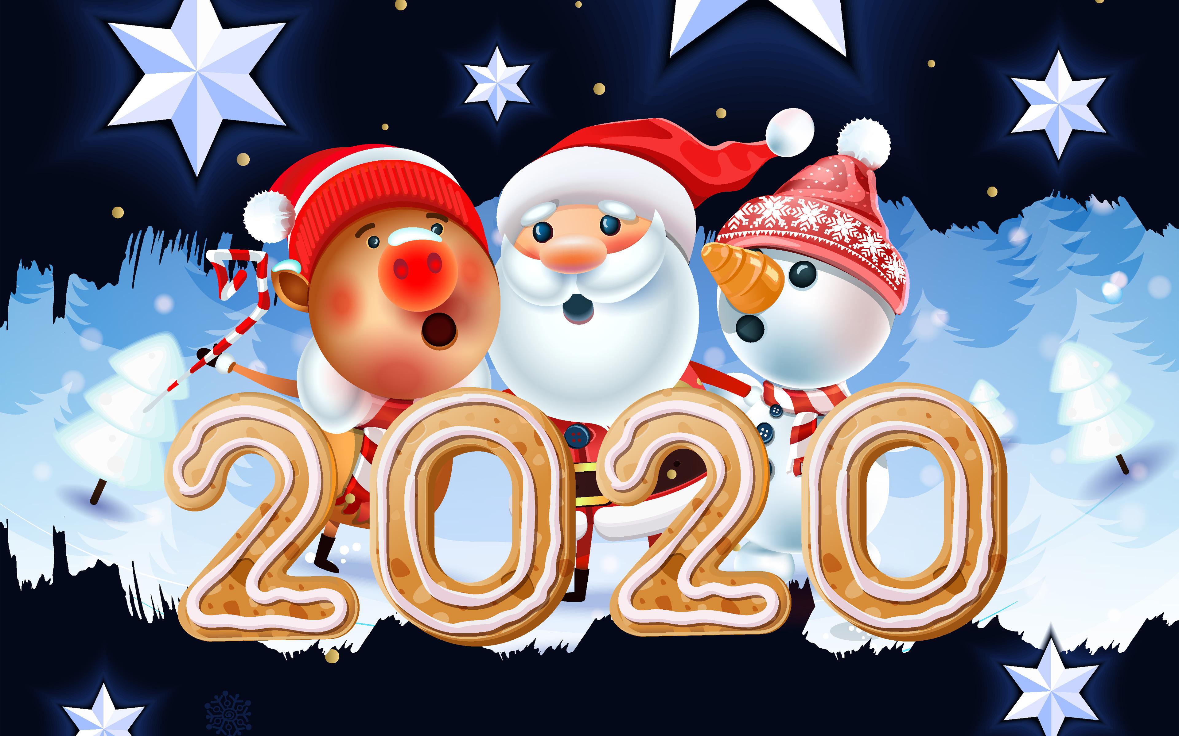 Новогодние Обои На Рабочий Стол 2020 Торрент