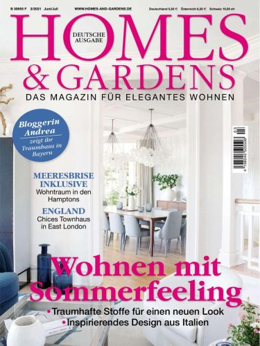 Cover: Homes & Gardens Magazin No 03 Juni-Juli 2021