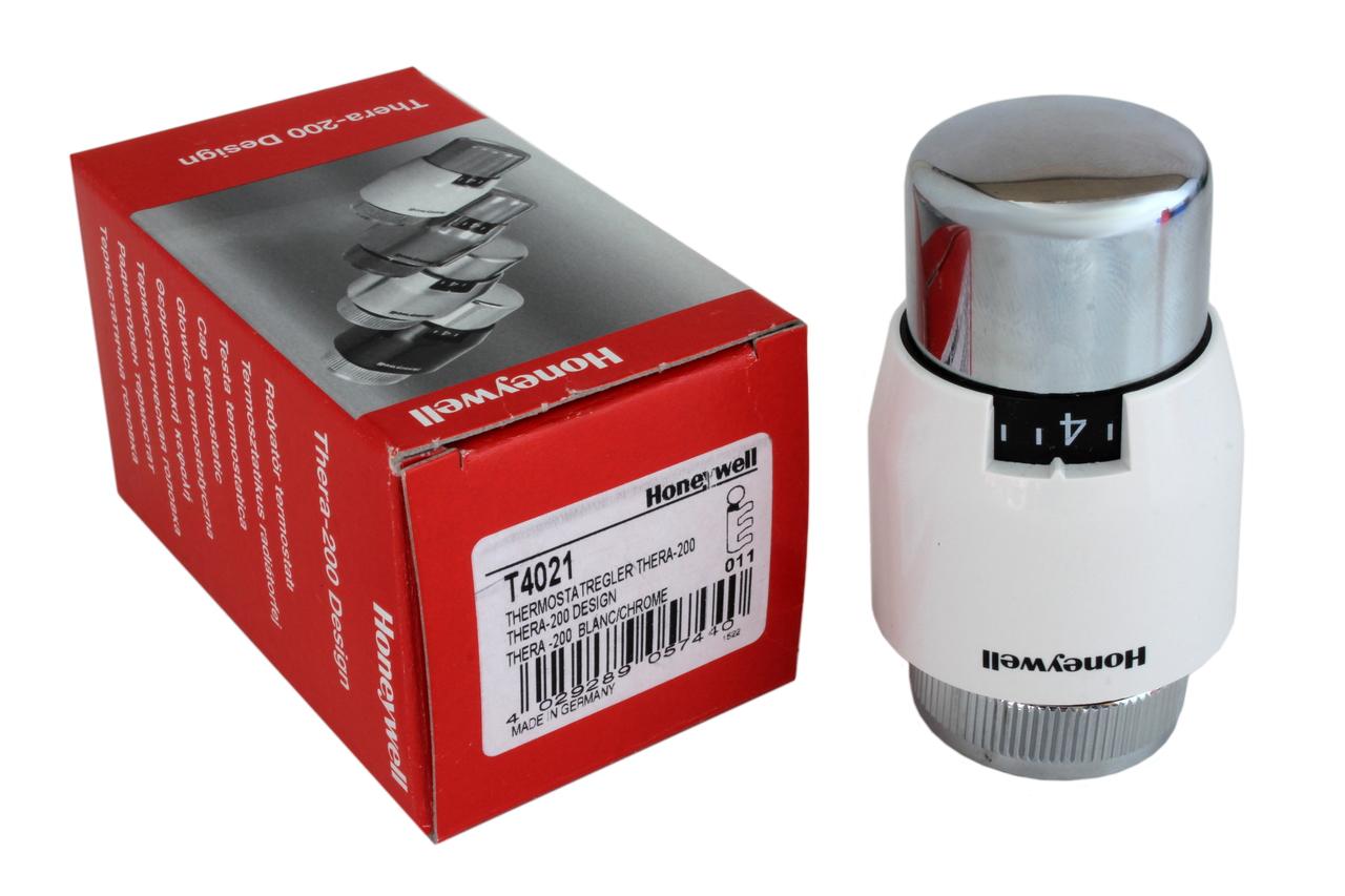 T4021 Thermostatkopf wei/ß//chrom Honeywell Thera 200 Design