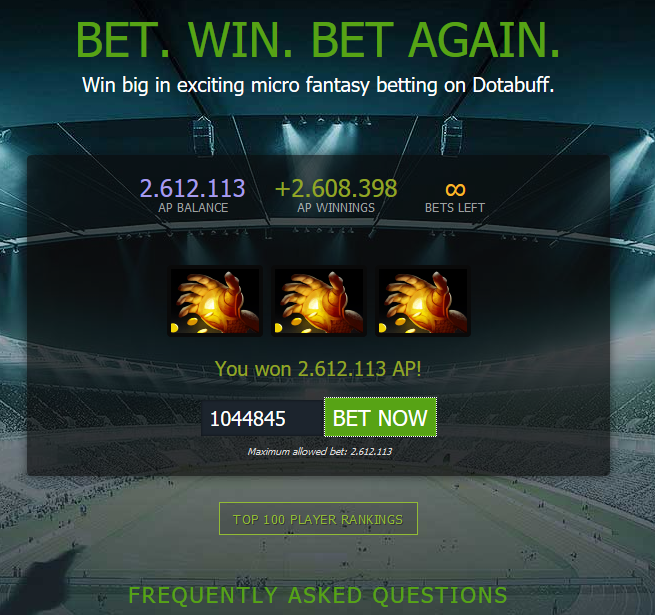 Dota 2 betting discussion text grand national horses 2021 betting