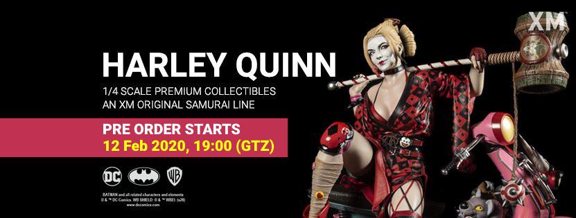 Premium collectibles : Harley Quinn** Hqbannerpoqnjzy