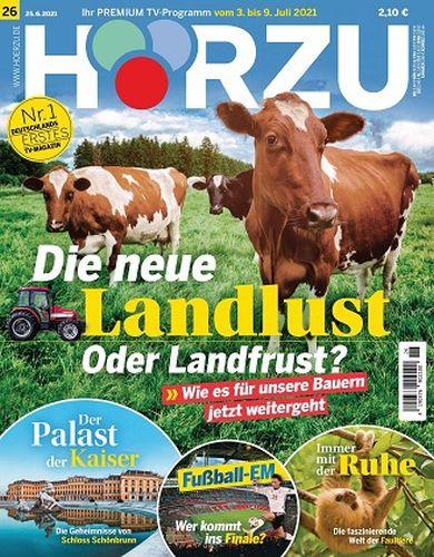 Cover: Hörzu Fernsehzeitschrift No 26 vom 25  Juni 2021