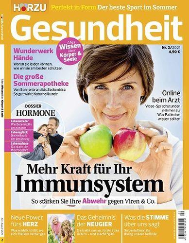 Hörzu Gesundheit Magazin No 02 2021