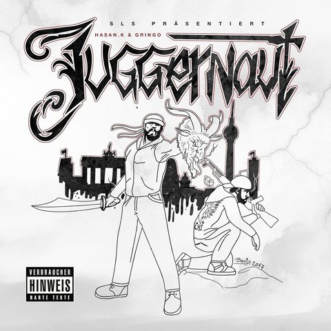 Cover: Hasan.K & Gringo - Juggernaut (2017)