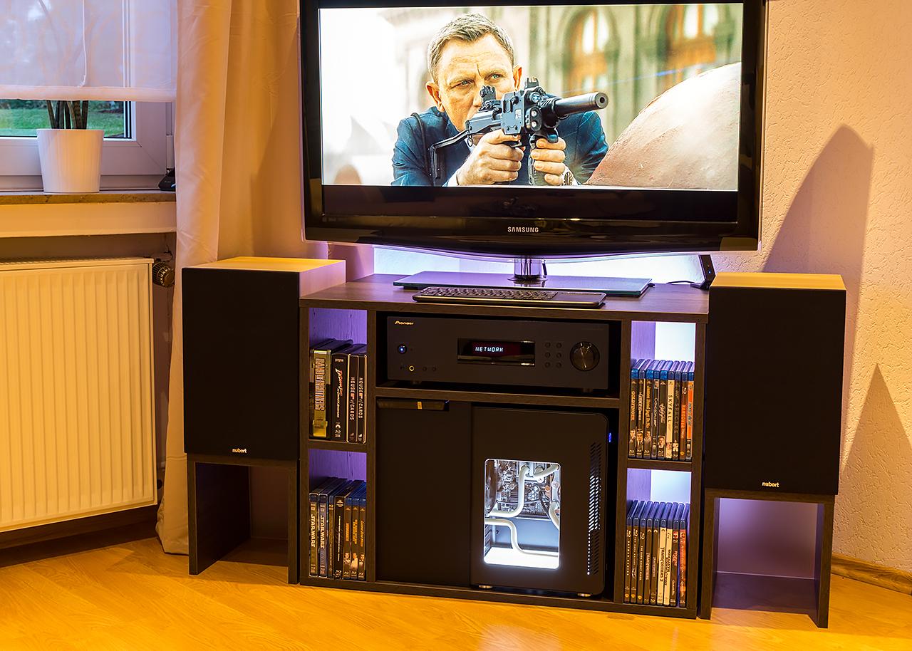 Projekt cooltek u3 goes wak multimedia pc f rs wohnzimmer seite 3 - Multimedia wohnzimmer ...