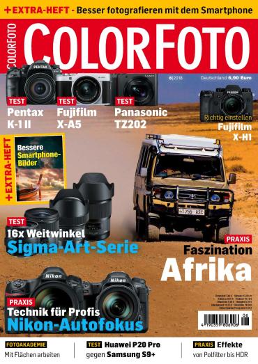 :  Colorfoto Magazin Juni No 06 2018