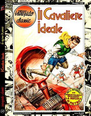 Intrepido Classic 20 - Il Cavaliere Ideale - La regina di pietra (05-1996)