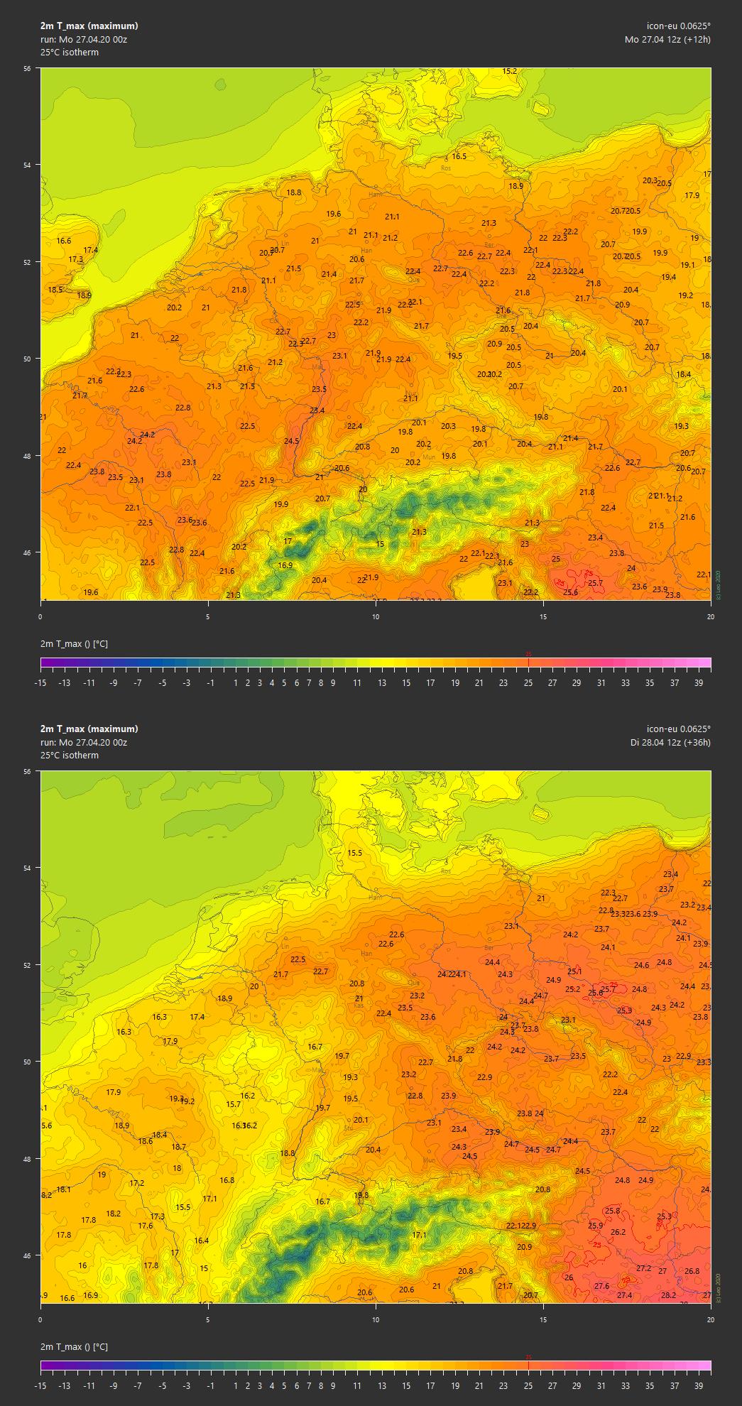 Wetterprognose Morgen