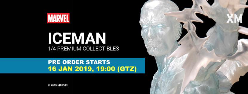 Premium Collectibles : Iceman** Icemanpobannert9kha