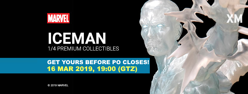 Premium Collectibles : Iceman** Icemanpofinalmekeg