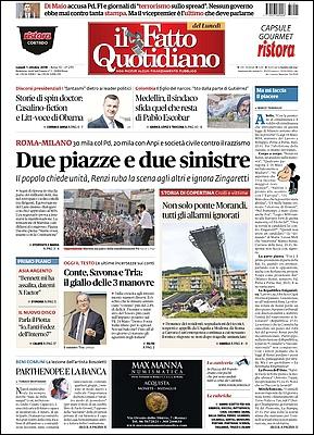Il Fatto Quotidiano - 1° Ottobre 2018 [Opt.]