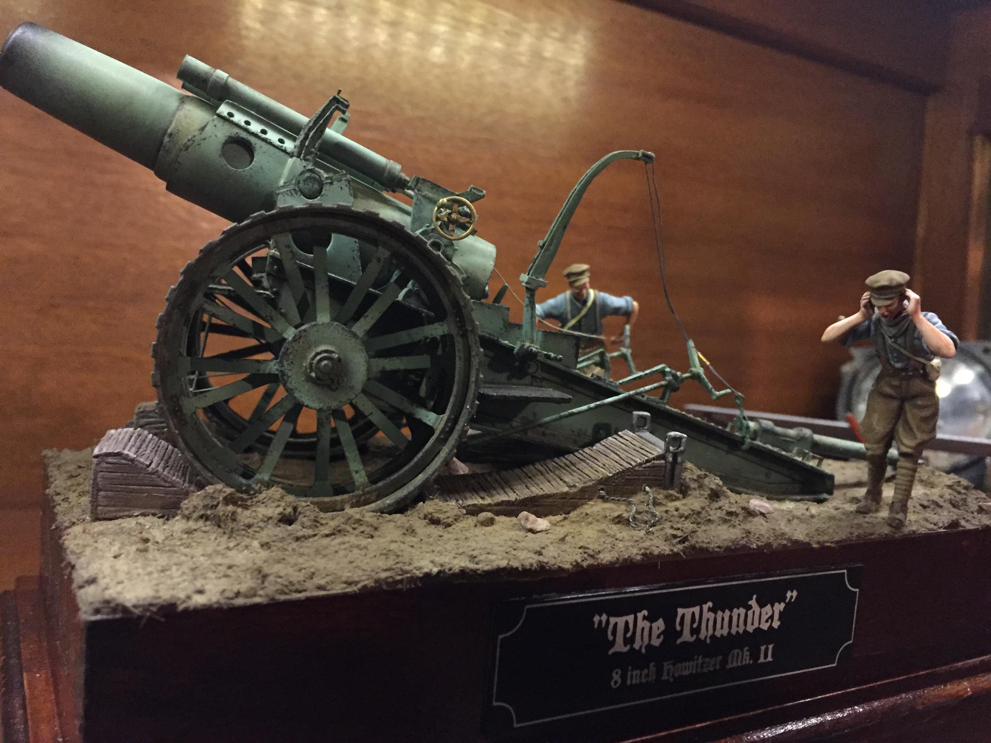 British 8inch Howitzer firing Image