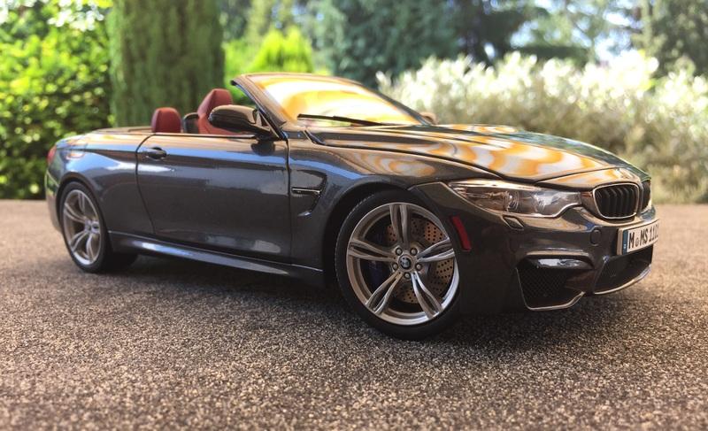 1 18 bmw m4 cabrio auf m6 felgen modelcarforum. Black Bedroom Furniture Sets. Home Design Ideas