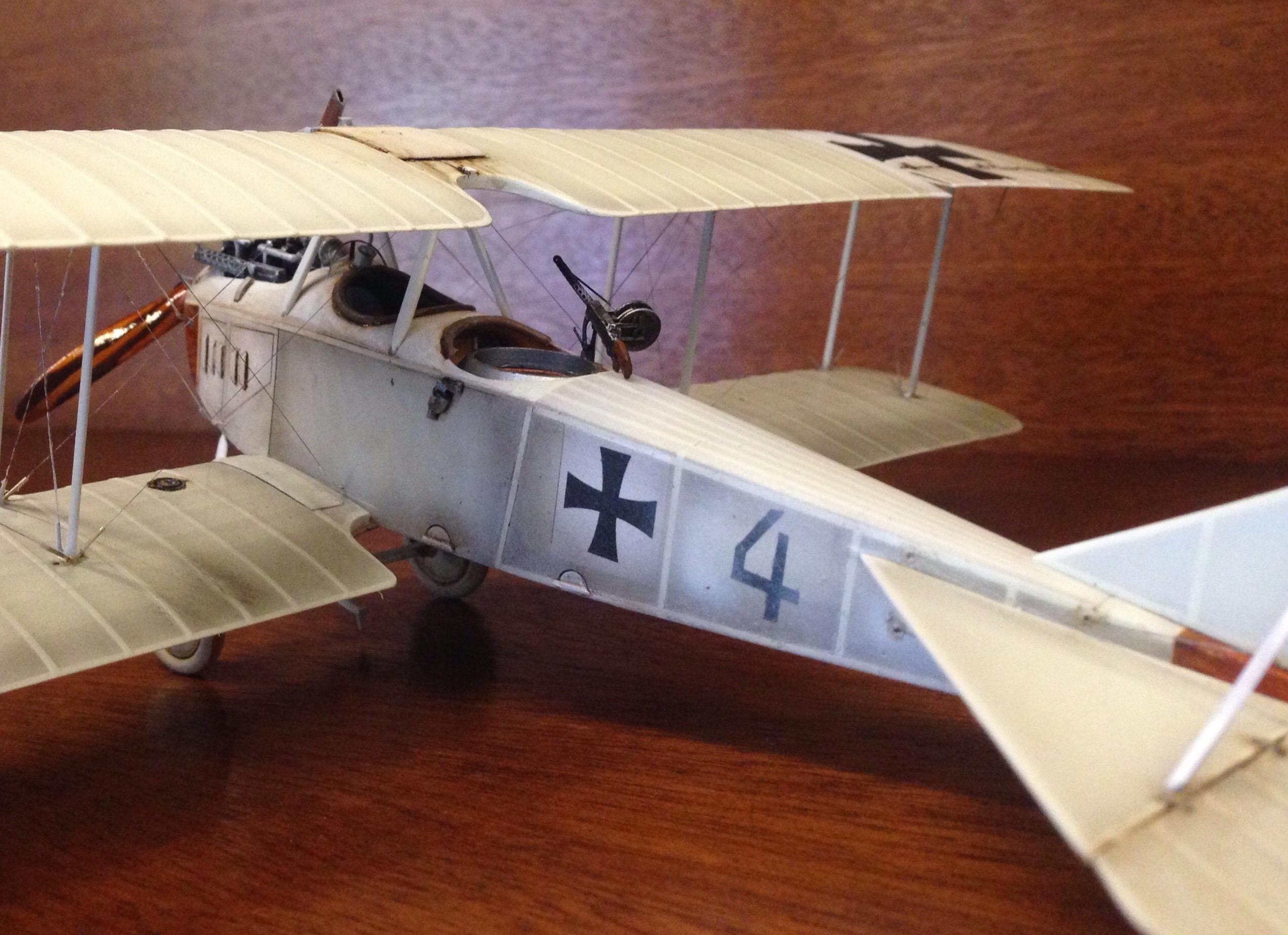 Au sujet des teintes de vernis des avions allemands 1914/1916 Image