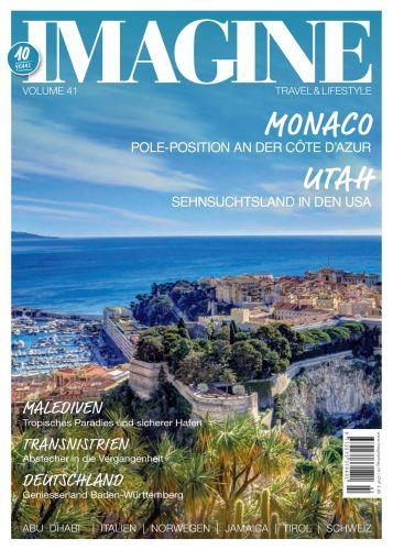 Cover: Imagine Travel und Lifestyle Reisemagazin No 41 2021