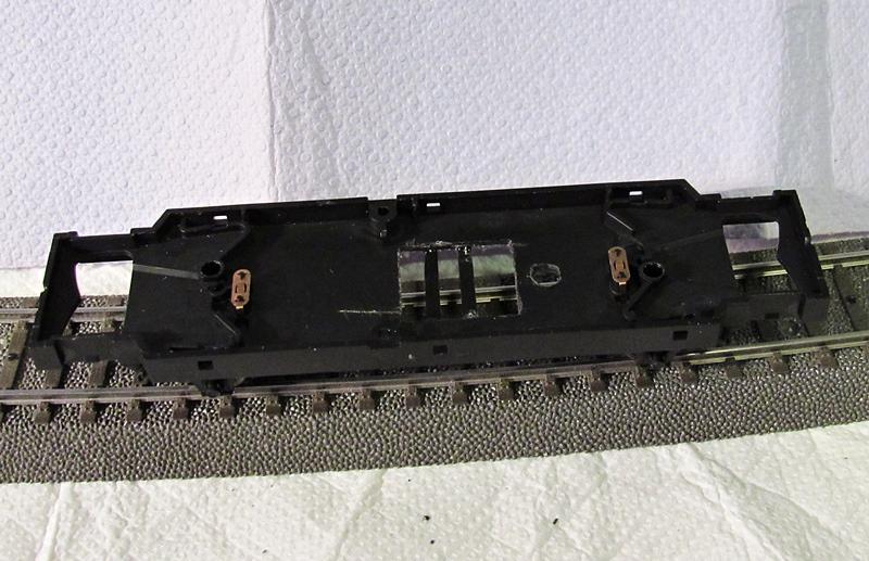 Umbau des Beiwagens VB 140 zum Triebwagen VT 75 Img1791.8nkkm6