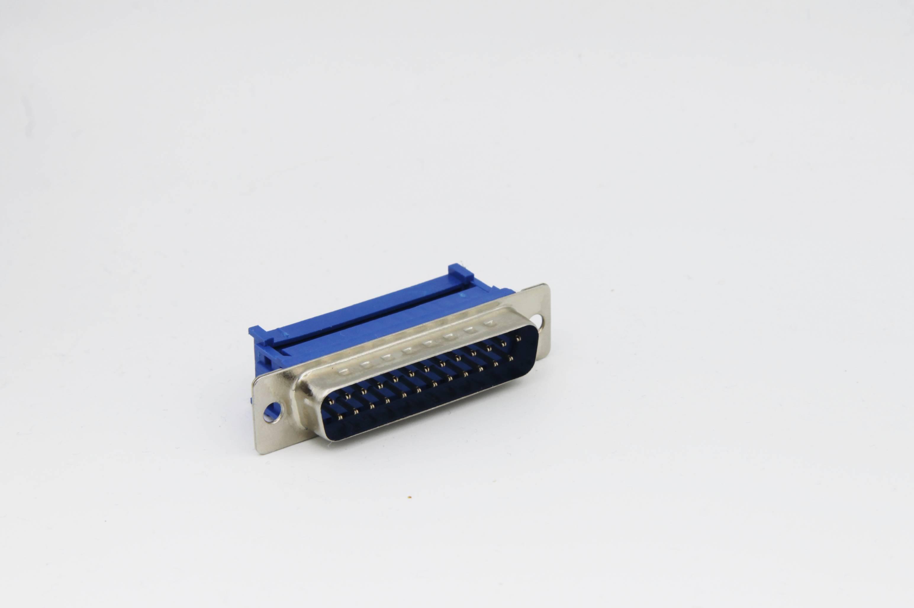 Sub-D-Stiftleiste 25-polig für Flachbandkabel