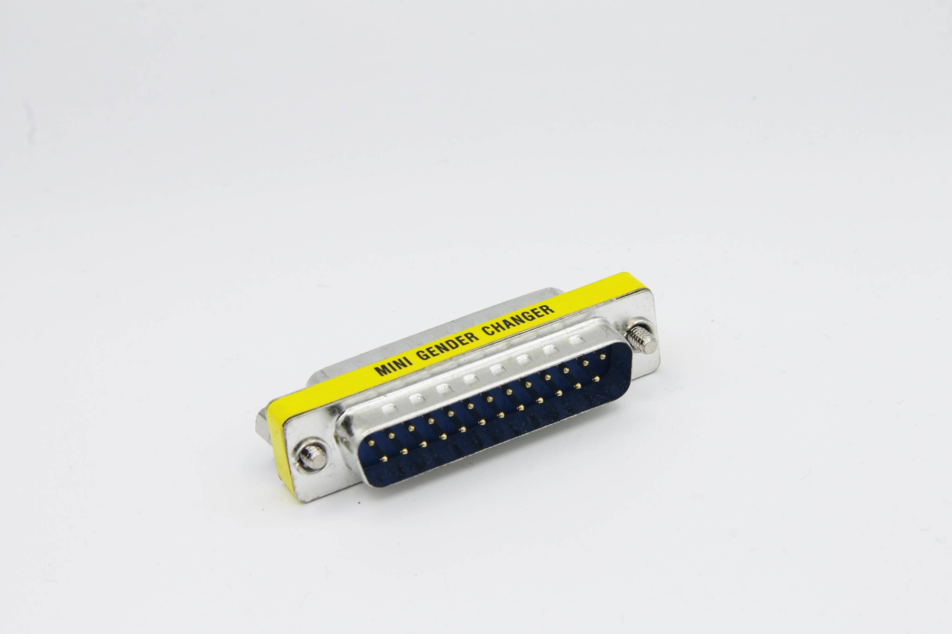 Sub-D-Adapter 25-polig Stecker-Stecker 1:1