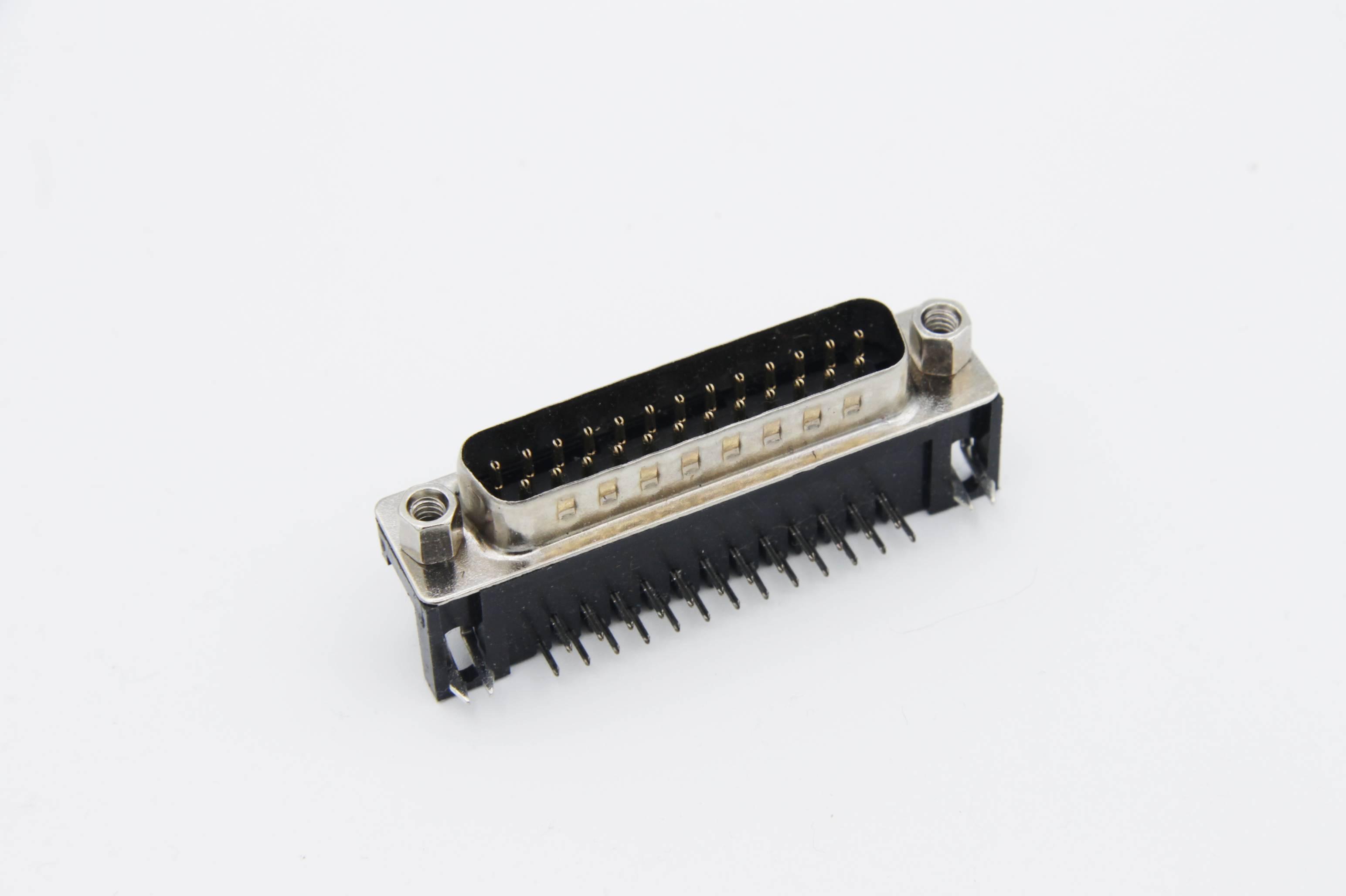 Sub-D-Stiftleiste 25-polig abgewinkelt für Printmontage