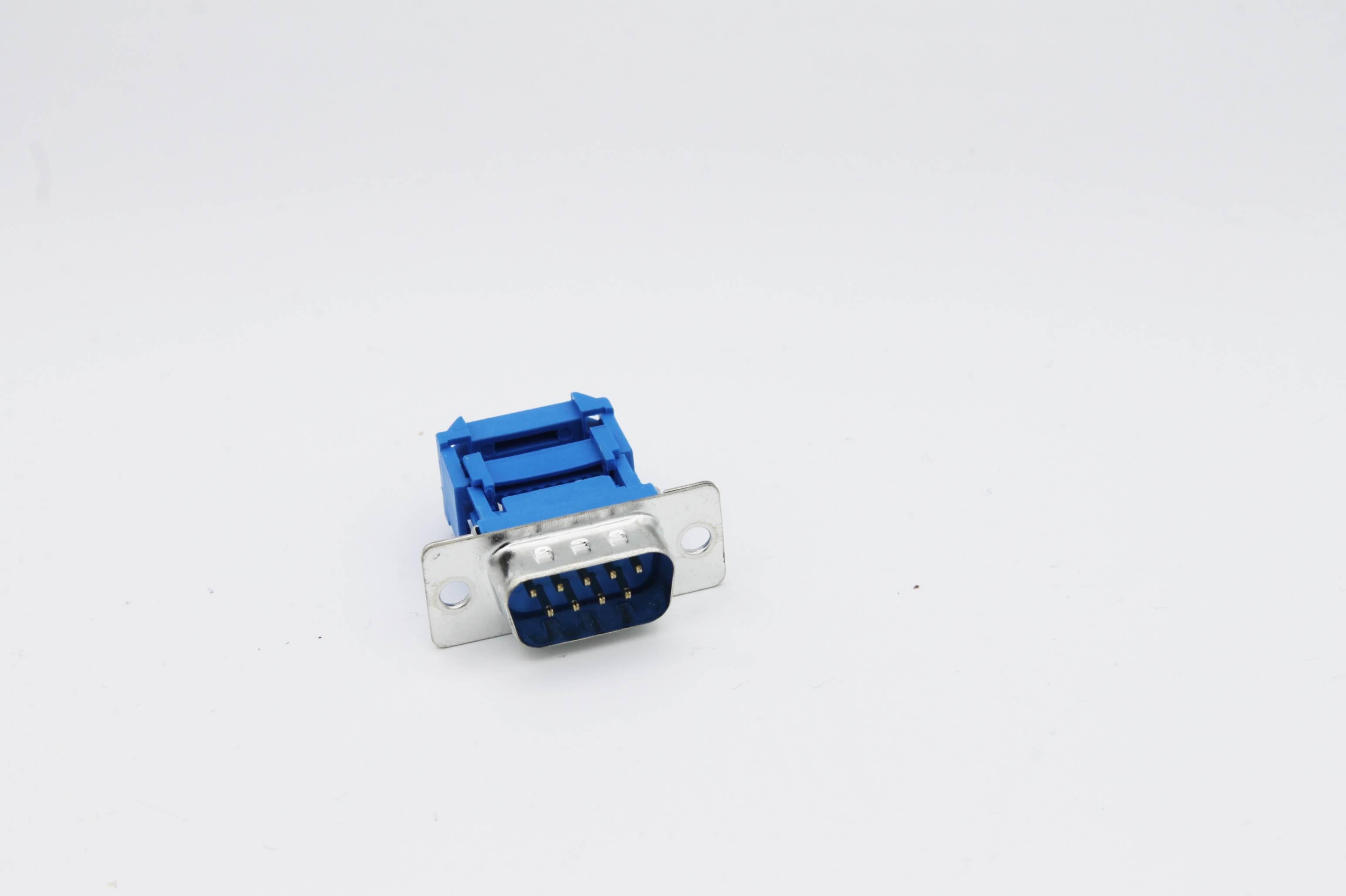 Sub-D-Stiftleiste 9-polig für Flachbandkabel