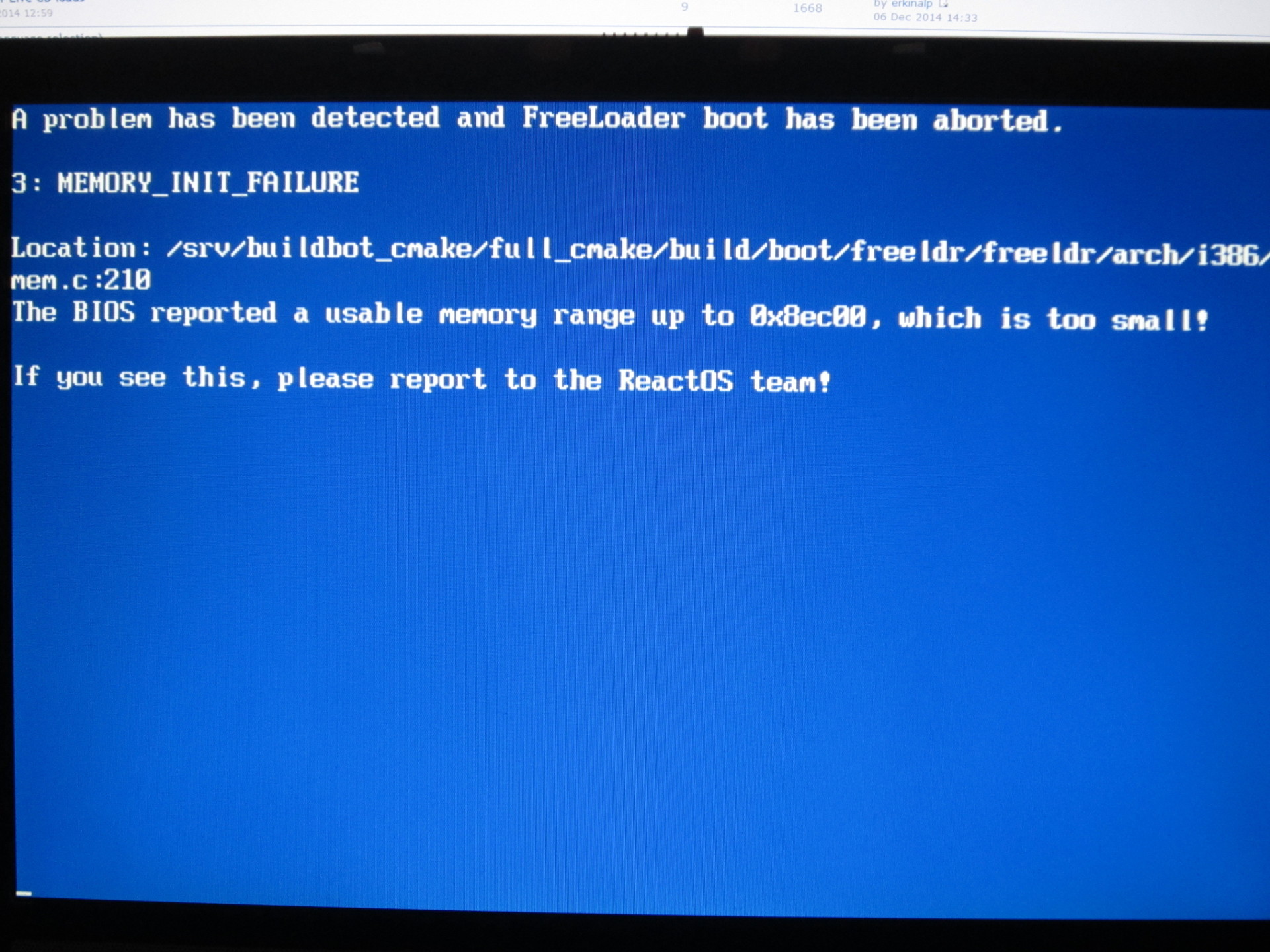 Time to try and test PXE Boot! - ReactOS Website