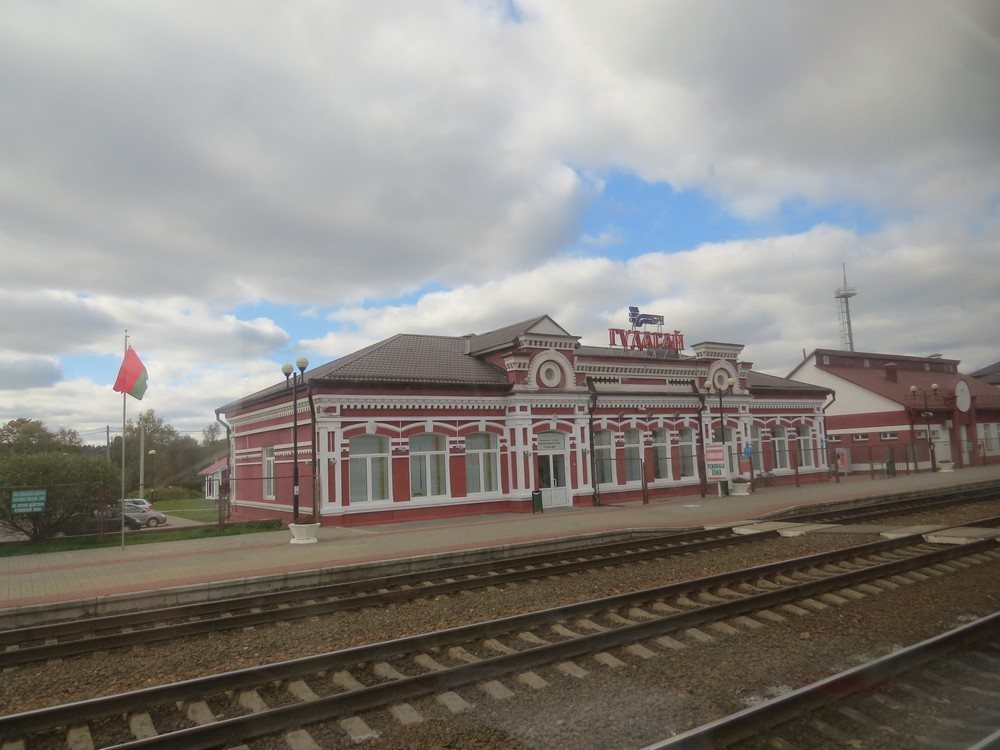 schienen transport von vilnius nach russland
