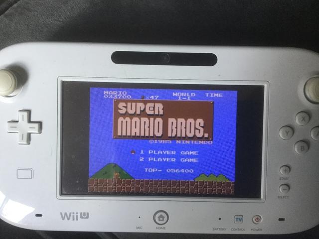 Super Mario Bros, blue or purple sky and adjusting you NES Classic