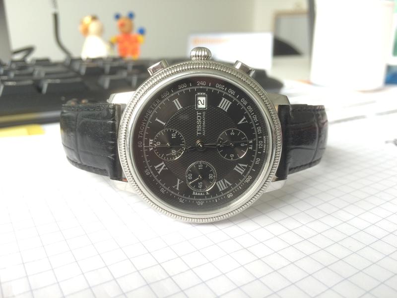 e4429a12b Erledigt] - TISSOT Bridgeport Automatic Chronograph Gent Valjoux