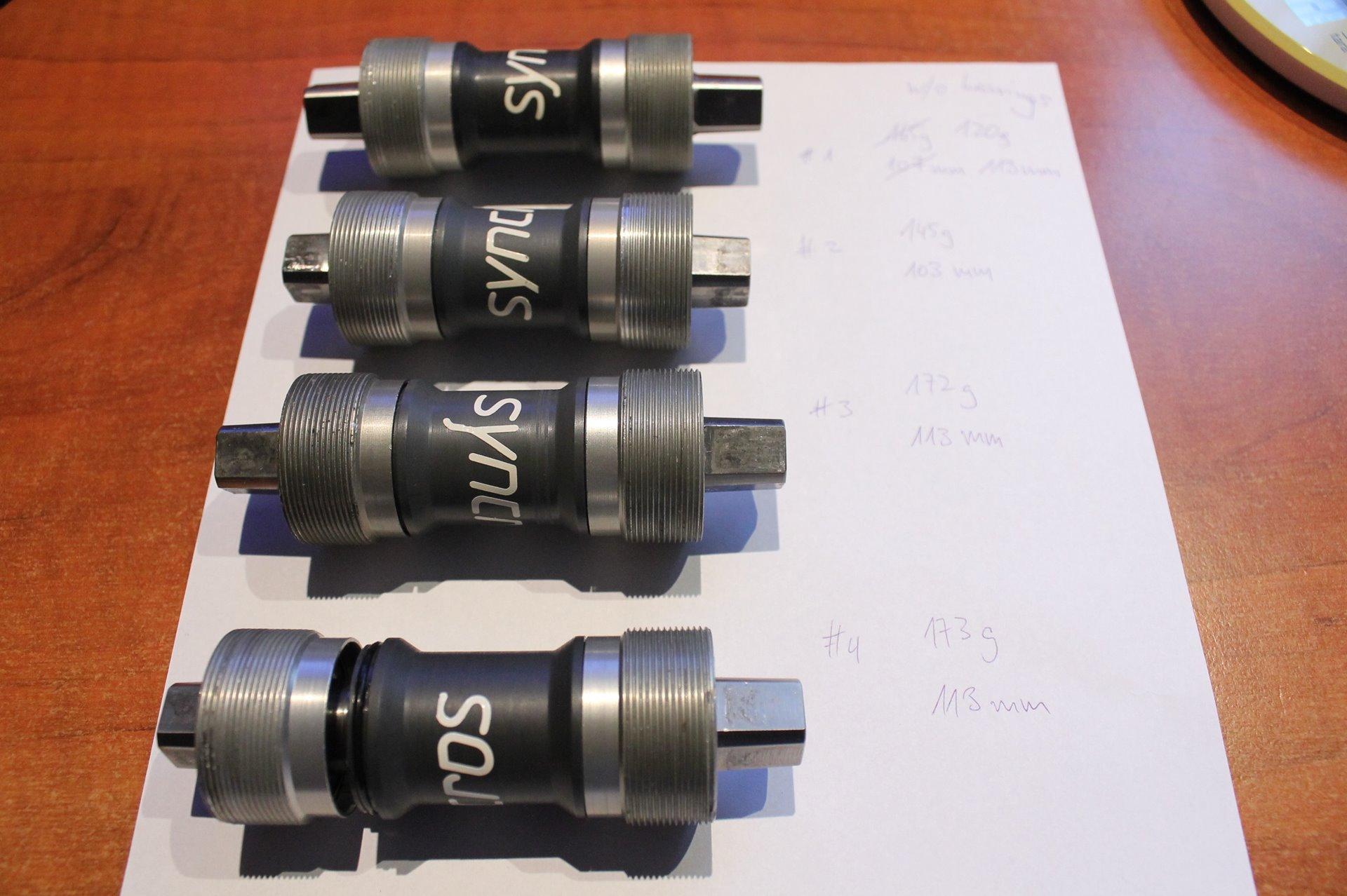 SYNCROS Titanium Bottom Brackets (4 Pcs) | Retrobike