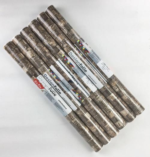6 x klebefolie selbstklebende folie tapete m belfolie for Folie steindekor