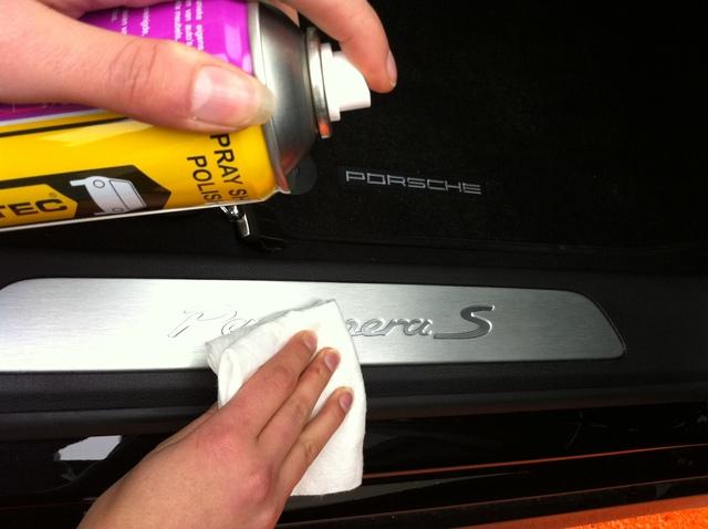 spray shine polish innotec 500ml mit poliert cher porsche ferrari aus der dose 4260425660111 ebay. Black Bedroom Furniture Sets. Home Design Ideas