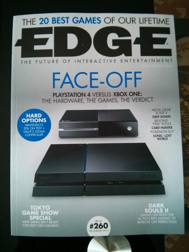 Edge #260 scores, Xbox One vs  PS4 | NeoGAF