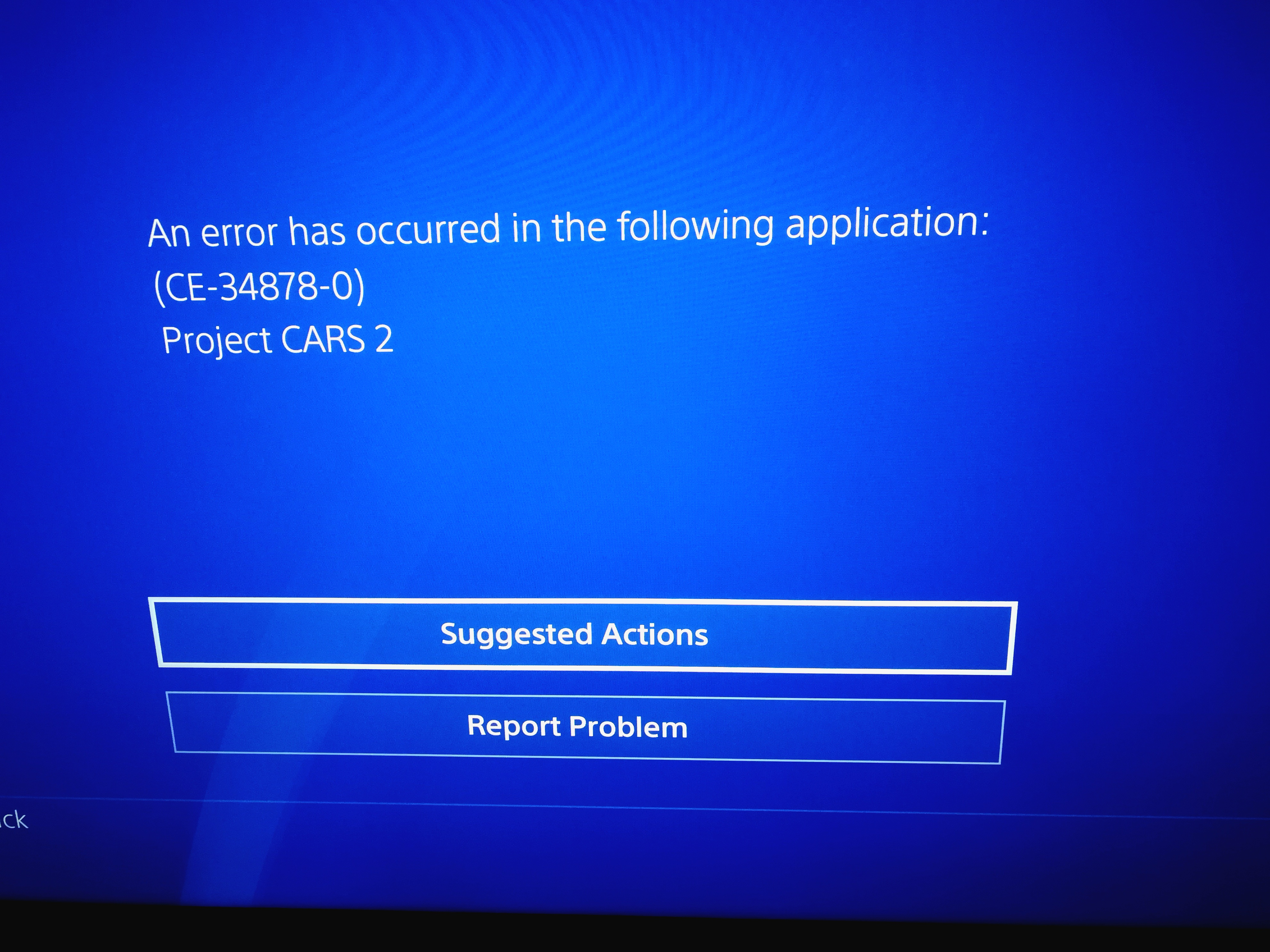 Fixed] ce-34878-0 crashes [Archive] - Project CARS Official Forum