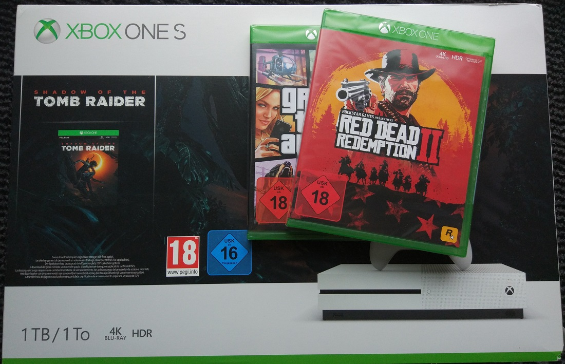 xbox one s 1tb shadow of the tomb raider ink gta 5 red. Black Bedroom Furniture Sets. Home Design Ideas