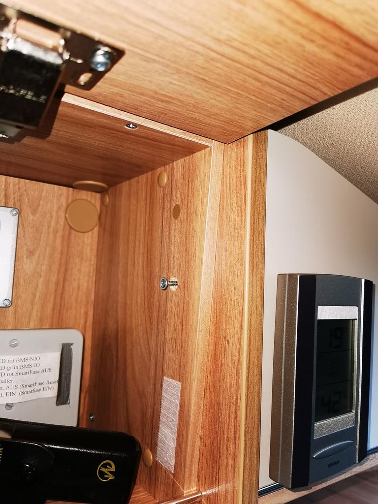 Alfs Bastelbude LED Basteleien im Hymer HME Reisemobil
