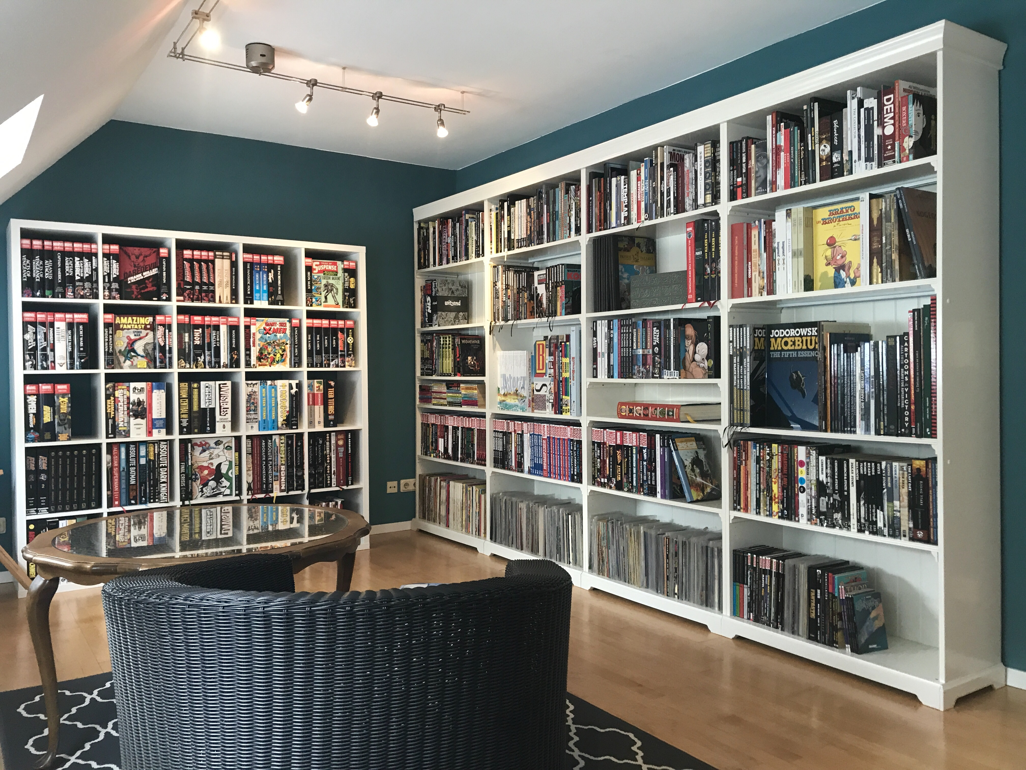 Bottom shelf the