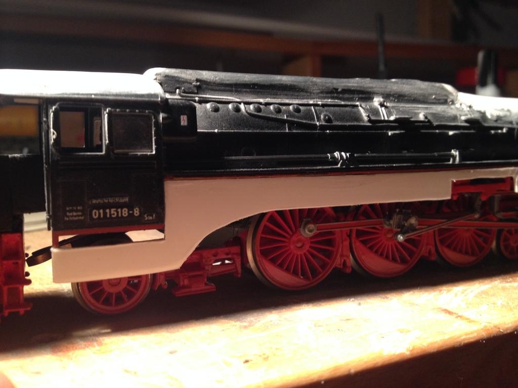 modell dampflokomotive selbst bauen