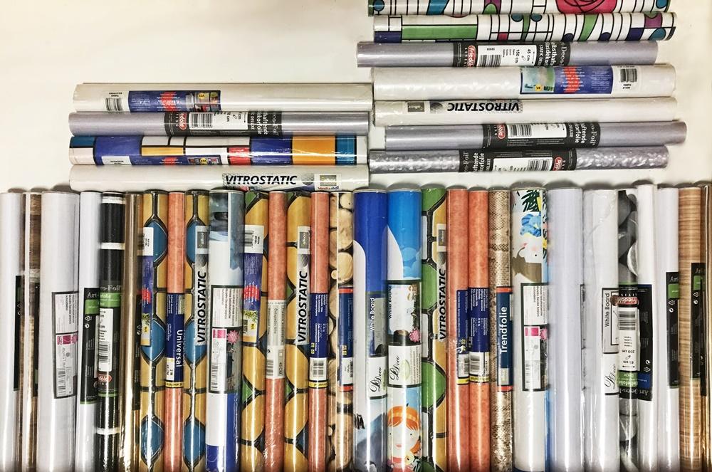 40 x klebefolie selbstklebende folie m belfolie dekofolie for Selbstklebende mobelfolie