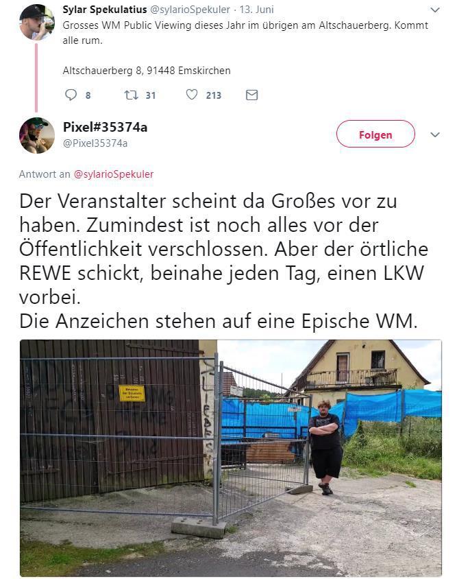 Altschauerberger Anzeige
