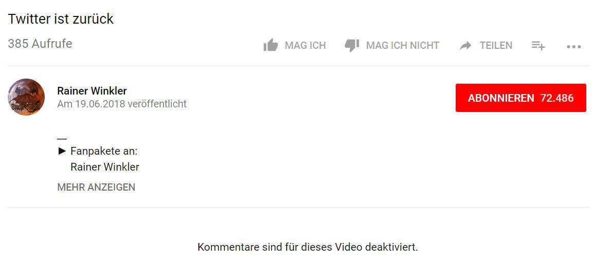 #youtubegrind - Twitter ist zurück | AltschauerbergExpress