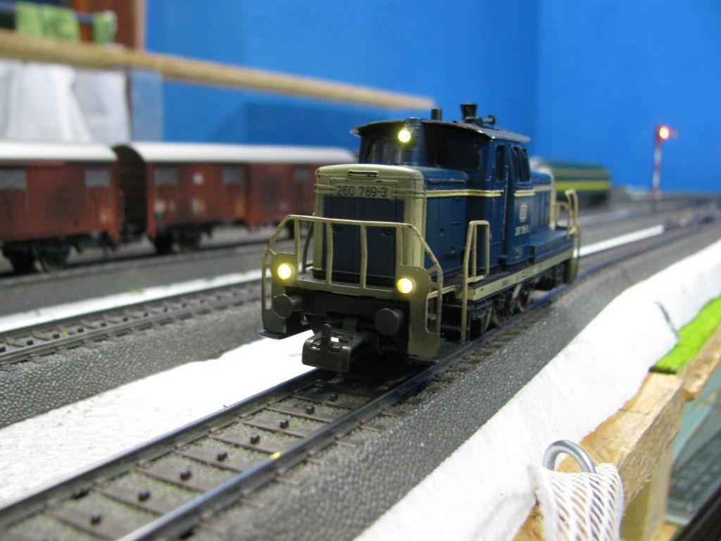 Lichteinbausatz für Doppelstockwagen Piko Spur N
