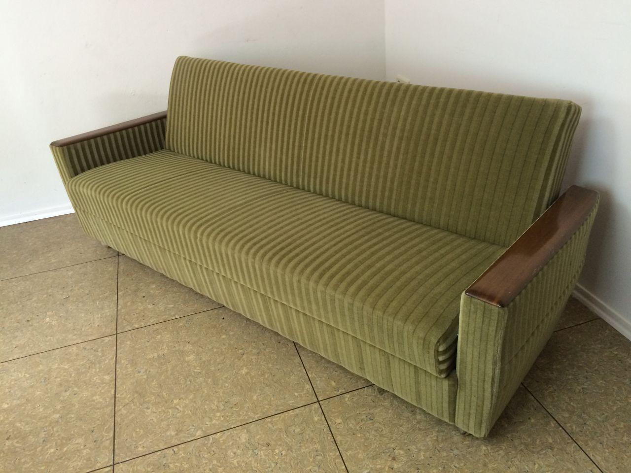50er 60er jahre sofa daybed couch gr n mid century nierentisch ra design. Black Bedroom Furniture Sets. Home Design Ideas