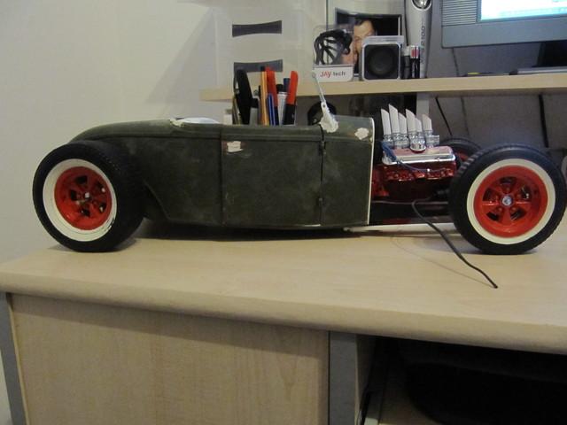 32 ford hot rod von revell 1 8 komplettumbau modelcarforum. Black Bedroom Furniture Sets. Home Design Ideas